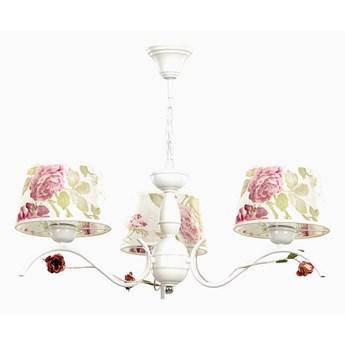 SUMMER 3 139/3 klasyczny żyrandol kwiatowy motyw prowansalski styl