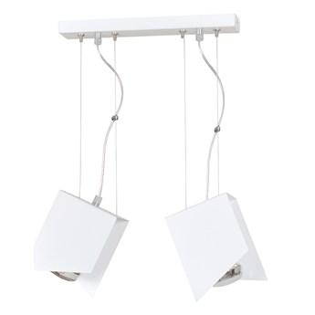 PABLO 2 WHITE 760/2 nowoczesna lampa wisząca  unikatowy wzór biała