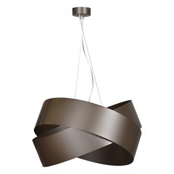VIENO WENGE 512/3 wisząca lampa sufitowa LOFT regulowana metalowa brązowa