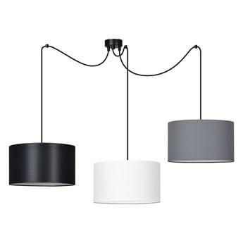 ROTO 3 MIX 192/3 lampa wisząca sufitowa duże abażury regulowana wysokość kolory