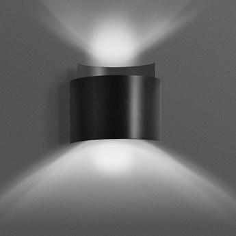 VOLTA BLACK 945/2 uniwersalny kinkiet LED cztery kolory do wyboru rozproszone światło