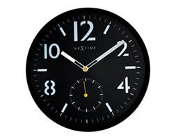 Zegar ścienny Serious Black