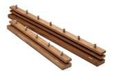 Garderoba bez półki Cutter drewno tekowe