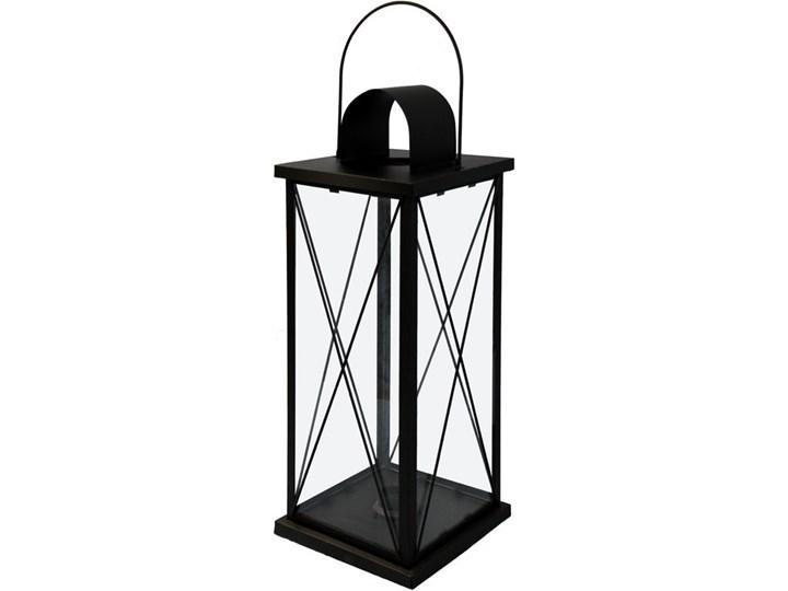 Lampion metalowy duży