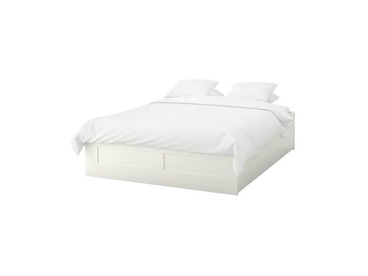 Brimnes Rama łóżka Z Szufladami