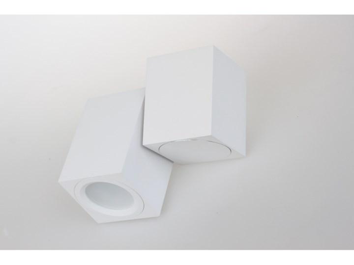 PP P 1328/1 WH REFLEKTOR NOWOCZESNA LAMPA SUFITOWA OPRAWA NATYNKOWA ALUMINIUM BIAŁY PAR16 GU10 LED Kwadratowe Oprawa stropowa Oprawa led Kategoria Oprawy oświetleniowe