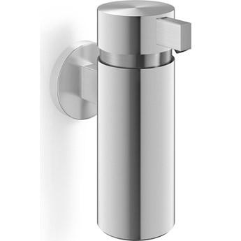 Dozownik do mydła wiszący 200ml Tores Zack stal nierdzewna matowa kod: ZACK-40356