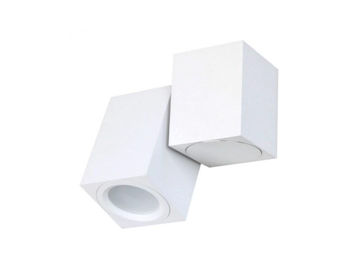 PP P 1328/1 WH REFLEKTOR NOWOCZESNA LAMPA SUFITOWA OPRAWA NATYNKOWA ALUMINIUM BIAŁY PAR16 GU10 LED Oprawa stropowa Oprawa led Kwadratowe Kategoria Oprawy oświetleniowe