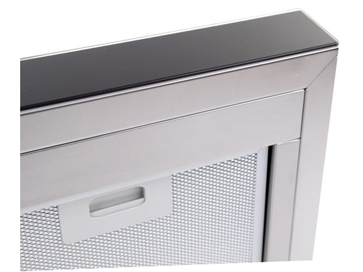 Okap GLOBALO Nidaro 90.3 Czarny Okap przyścienny Szerokość 90 cm Sterowanie Elektroniczne