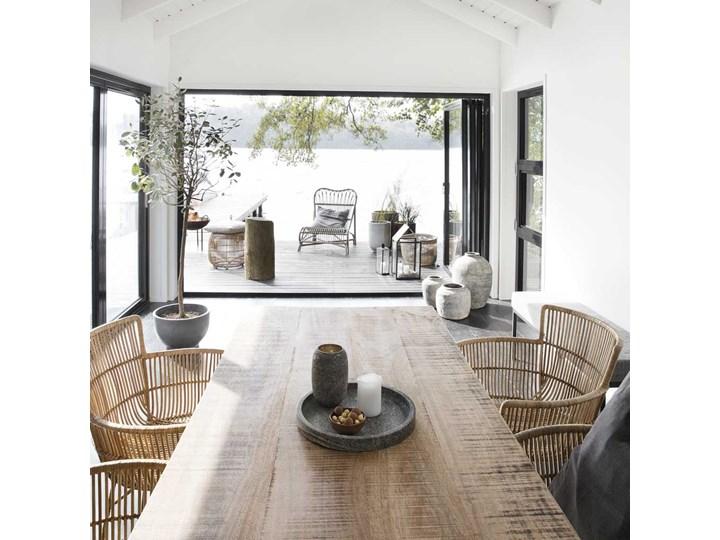 KRZESŁO DINING CUUN NATURE HOUSE DOCTOR Wysokość 80 cm Żelazo Metal Krzesło inspirowane Kolor Beżowy Rattan Głębokość 60 cm Szerokość 62 cm Kategoria Krzesła kuchenne