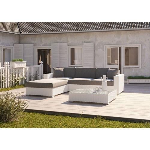 Meble ogrodowe MILANO I royal białe