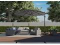 Meble ogrodowe MILANO II royal szare Zestawy modułowe Rattan Tworzywo sztuczne Drewno Technorattan Aluminium Styl Nowoczesny