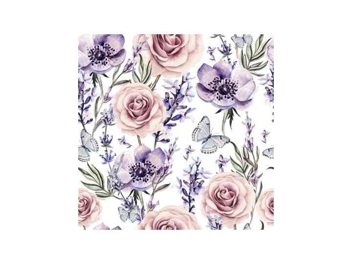 e125d2d4ea3bd5 Fototapeta Delikatny kwiaty i motyle 100x100 cm - Fototapety ...