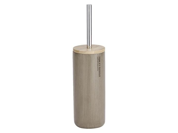 Szczotka do WC Wenko Palo Żywica poliestrowa Wiszące Wolnostojące Bambus Styl klasyczny