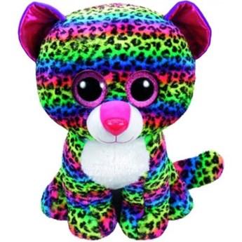 Maskotka TY INC Beanie Boos  Dotty - Kolorowy leopard 24cm 37074