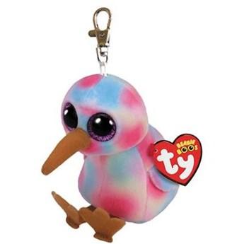Maskotka-zawieszka TY INC Beanie Babies Kiwi ptak kiwi