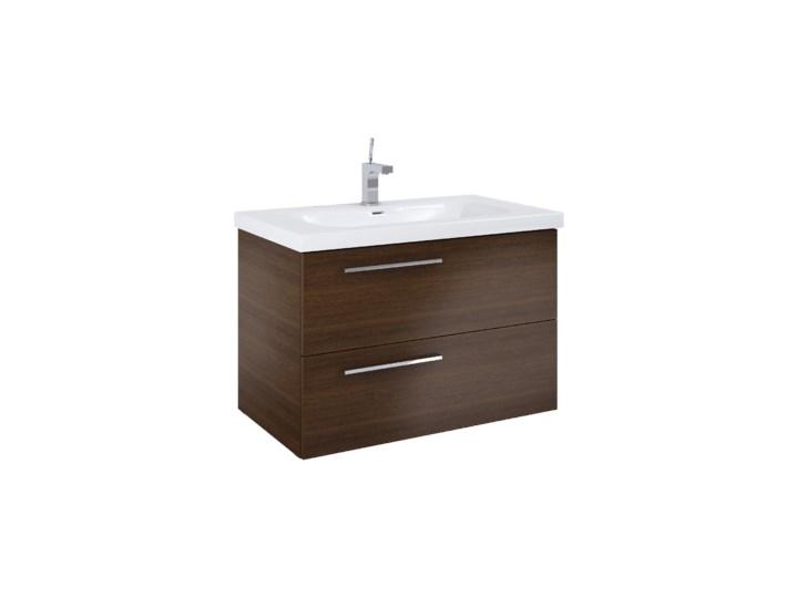 Szafka łazienkowa Z Umywalką 90 Cm Marsylia Dąb Wenge Szafki Z