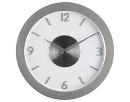 Zegar na ścianę w nowoczesnym stylu, zegar z cyframi, nowoczesny zegar, zegar do salonu, zegar kuchenny, zegar biały