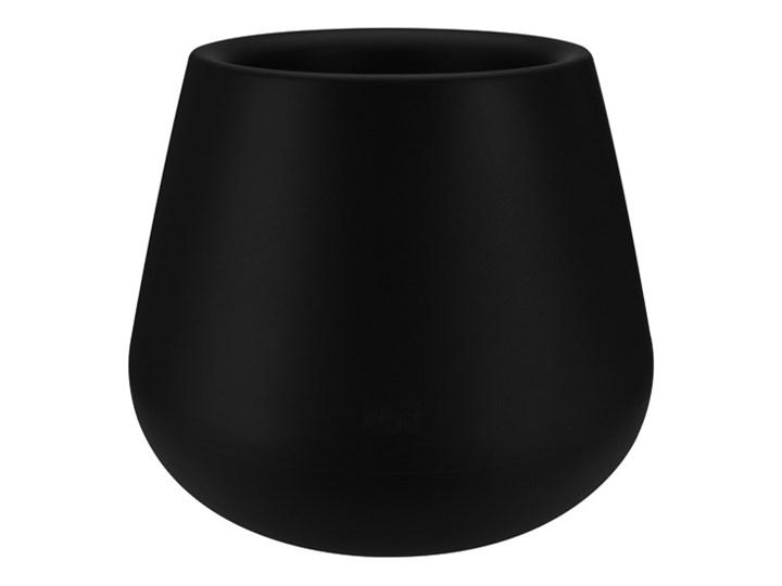 PURE CONE 45/36 - czarny Plastik Donica ogrodowa