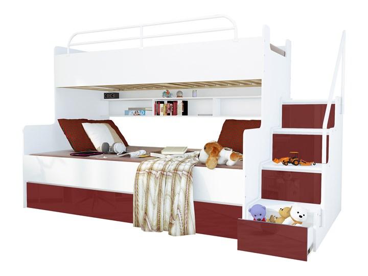 łóżko Piętrowe 3 Osobowe Magnum Beta Lux Mr łóżka Piętrowe
