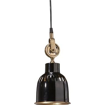 INDUSTRIALNA LAMPA CLEVELAND 14 CM CZARNA