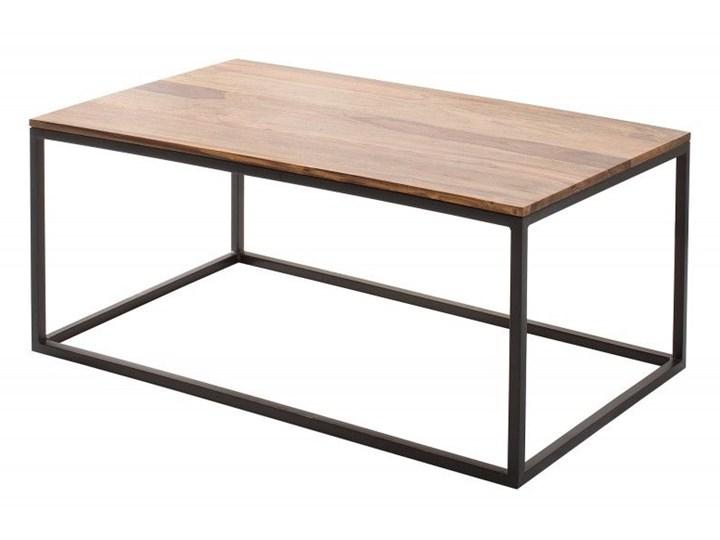 Coffee table KINTEA 100cm Drewno Metal Stolik Zestaw stolików