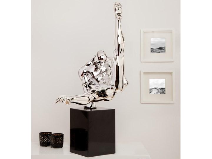 Figurine Athlete 70cm - silver - showroom piece