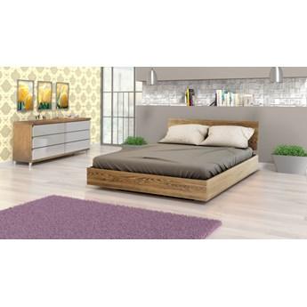 Beriet łóżko z drewna bukowego lewitujące 140x200 cm