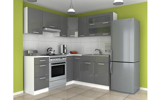 Rewelacyjny czarne meble kuchenne na wysoki połysk opinie - pomysły JO37