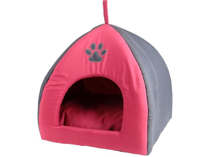 8859747c59d9a5 Domek dla psa, kota - legowisko, budka z poduszką Poliester tkanina  Uniwersalna Styl klasyczny