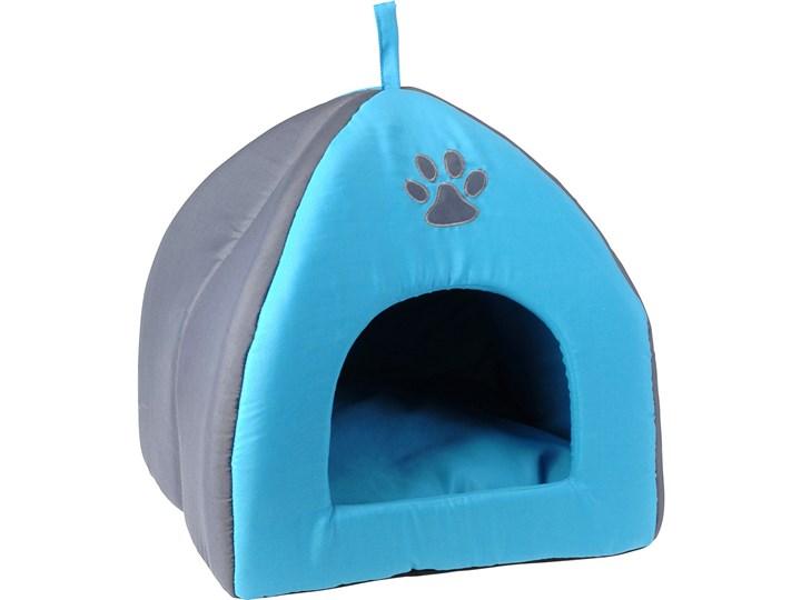 8abd0878448ef0 Domek dla psa, kota - legowisko, budka z poduszką tkanina Styl klasyczny  Uniwersalna Poliester