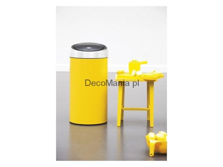 Touch Bin 45 Liter.Kosz Na Smieci 45 L Touch Bin Brabantia Lemon Yellow Kosze Na