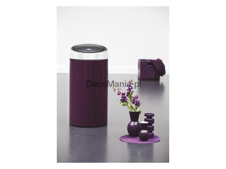 Touch Bin 45 Liter.Kosz Na Smieci 45 L Touch Bin Brabantia Violet Purple Kosze Na