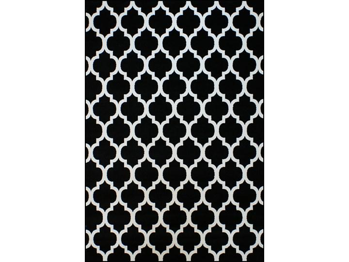 WYPRZEDAŻ Dywan Kolibri Koniczyna Czarna Dywany Prostokątny Prostokątne Rozmiar 4 120x170 cm