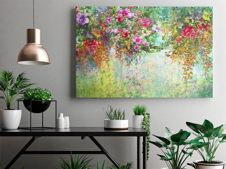 Wonny woal - nowoczesny obraz na płótnie - 120x80 cm Wykonanie Wydruk cyfrowy Kategoria Obrazy