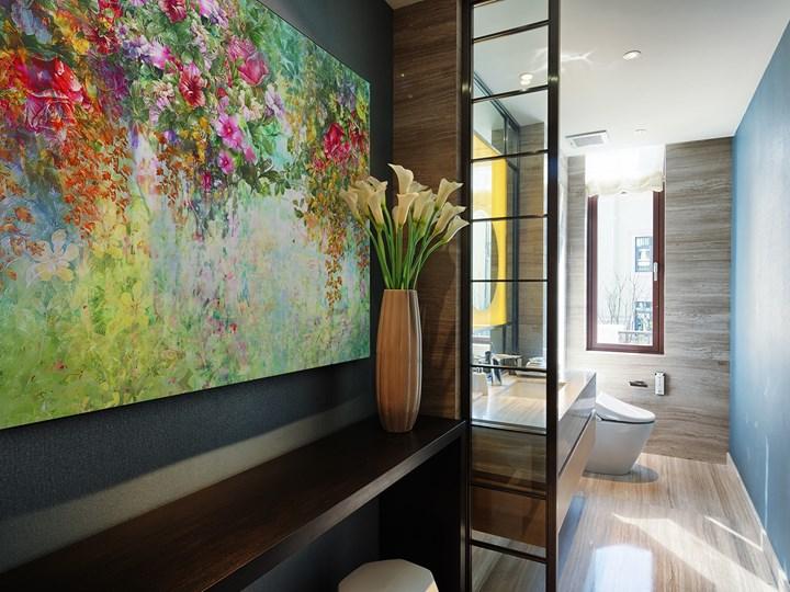 Wonny woal - nowoczesny obraz na płótnie - 120x80 cm Wymiary 80x120 cm