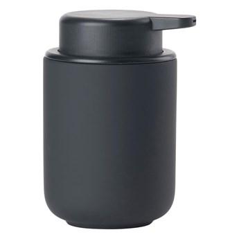 Dozownik do mydła Zone UME Zone Denmark, aksamitny czarny mat