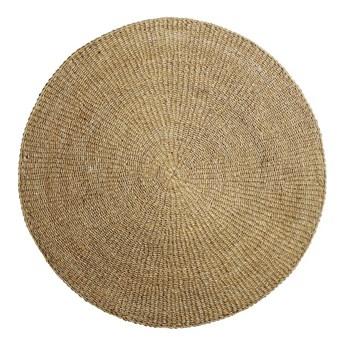 Dywan z trawy morskiej, okrągły, naturalny, Bloomingville