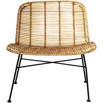 krzesło rattanowe, indoor, naturalny, Bloomingville