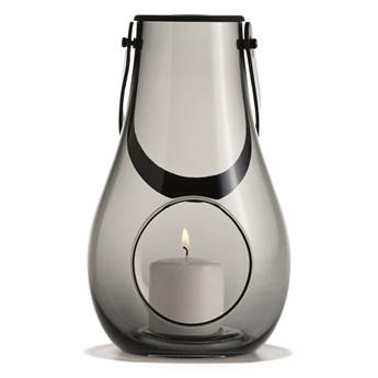 LAMPION DESIGN WITH LIGHT SMOKE M, HOLMEGAARD