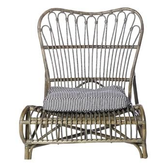 Fotel wypoczynkowy COLONE, brązowy, House Doctor