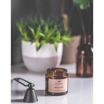 Paczula i Piżmo, świeca zapachowa 120ml, Biotika