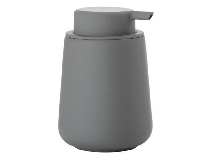Dozownik do mydła Nova One Zone Denmark, ciemnoszary mat Plastik Ceramika Dozowniki Kategoria Mydelniczki i dozowniki