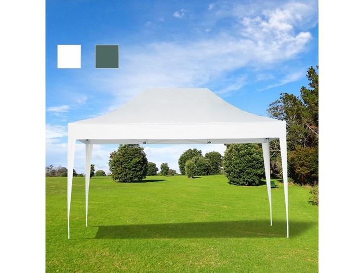 Outsunny PAWILON OGRODOWY IMPREZOWY NAMIOT 3x4.5M METAL zielony