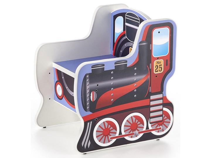 fotelik dziecięcy lokomotywa milo 2x Tworzywo sztuczne
