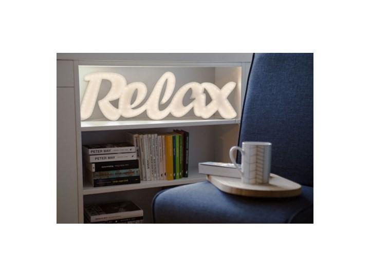 Relax Ledon świecący Napis Na ścianę Neon Oświetlenie