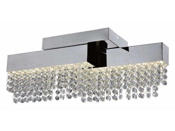 Ekskluzywny Plafon CRYSTAL 16W Kryształowa Lampa ze Zmianą Natężenia Światła Led Oświetlenie Auhilon