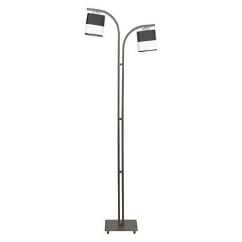 LATTE LP2 843/LP2 Lampa podłogowa wenge dwa abażury