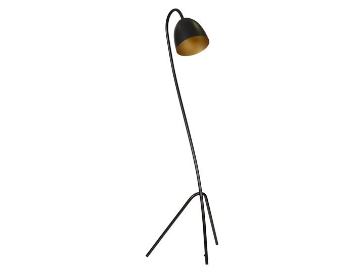 HARIS LP1 BLACK / GOLD 864/1 lampa podłogowa nowoczesna czarna złoty środek