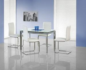 Stół szklany rozkładany Lambert - Profesjonalna Obsługa - Najniższe Koszty !. Kolor blatu: biały